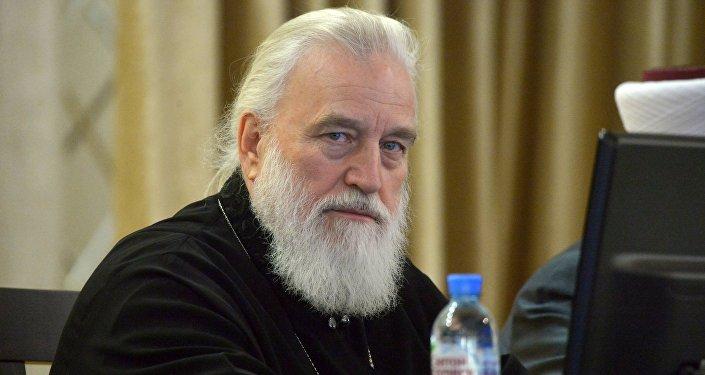 глава Белорусской православной церкви (БПЦ) митрополит Минский и Заславский Павел